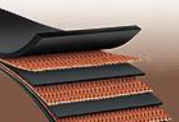 تسمه نقاله لاستیکی جهت مصارف صنعتی و معدنی  دارای لایه پارچه ای از عرض های 60، 80 و 100 سانتیمتر
