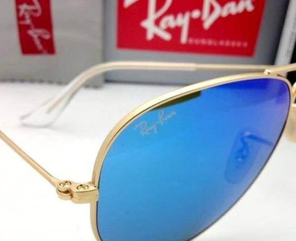 عینک خلبانی شیشه آبی Rayban