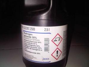 آب اکسیژنه یا هیدروژن پراکساید ساخت مرک آلمان