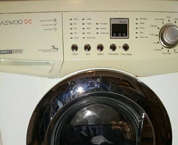 ماشین لباسشویی دوو 7 کیلویی