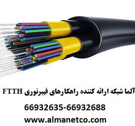 آلما شبکه ارائه کننده راهکارهای فیبرنوری FTTH  --66932635