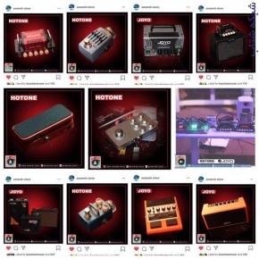 فروش ساز و آلات موسیقی در فروشگاه اینترنتی