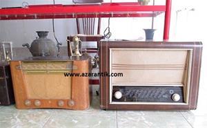 فروش 17 عدد رادیو لامپی قدیمی به صورت یکجا