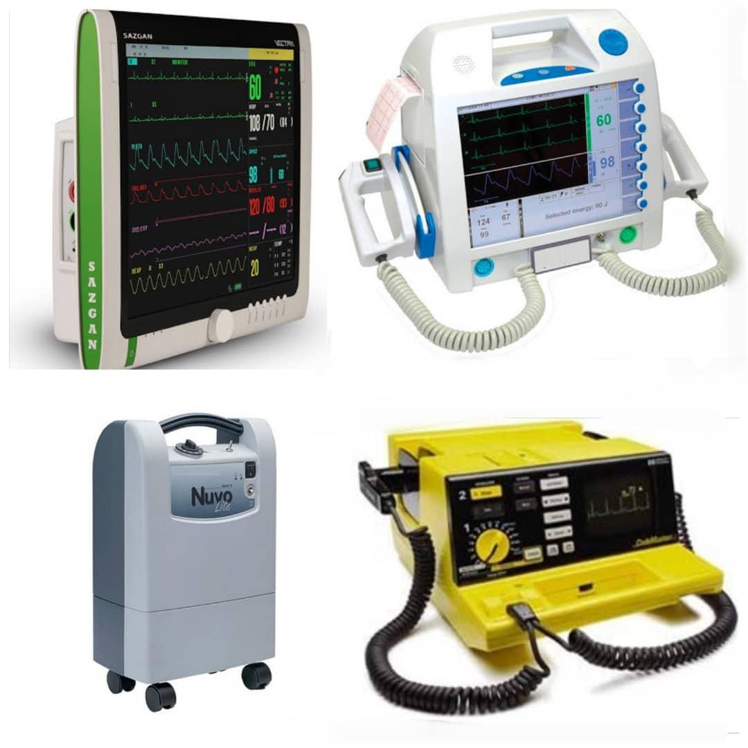 تعمیر و ترمیم شکستگی انواع دستگاههای پزشکی