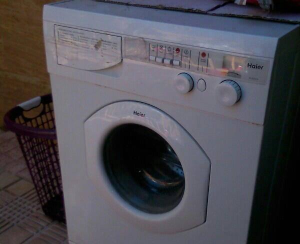 ماشین لباس شویی هایر
