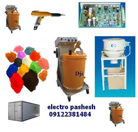 قیمت انواع دستگاه رنگپاش الکترواستاتیک