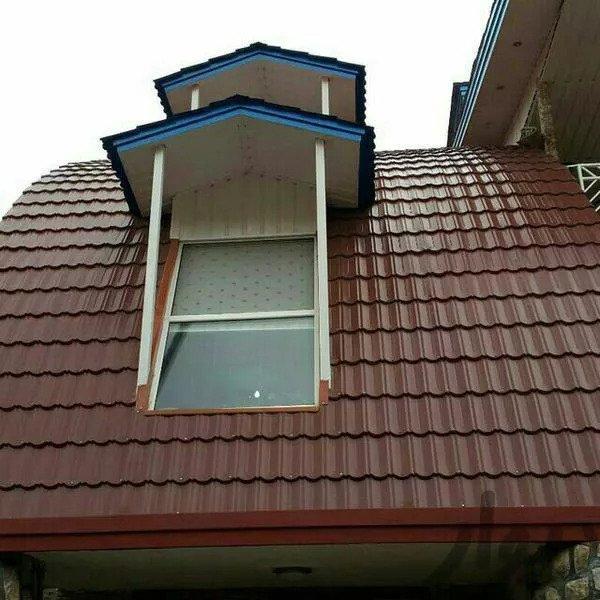 طراحی، ساخت و اجرای انواع سقف شیبدار (شیروانی)