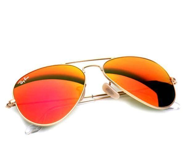 عینک خلبانی شیشه رنگی