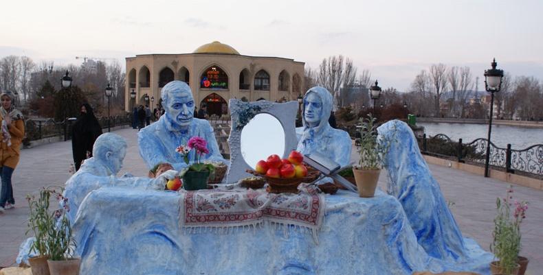 المان و مجسمه های نوروزی