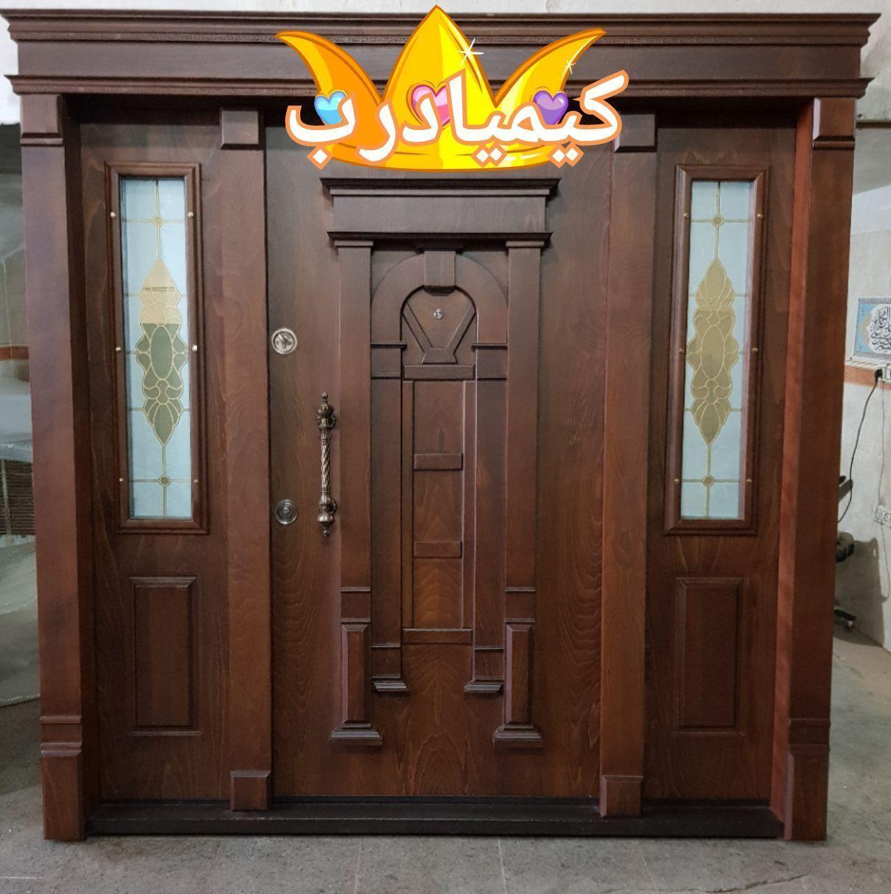 دربهای ضدسرقت و درب چوبی