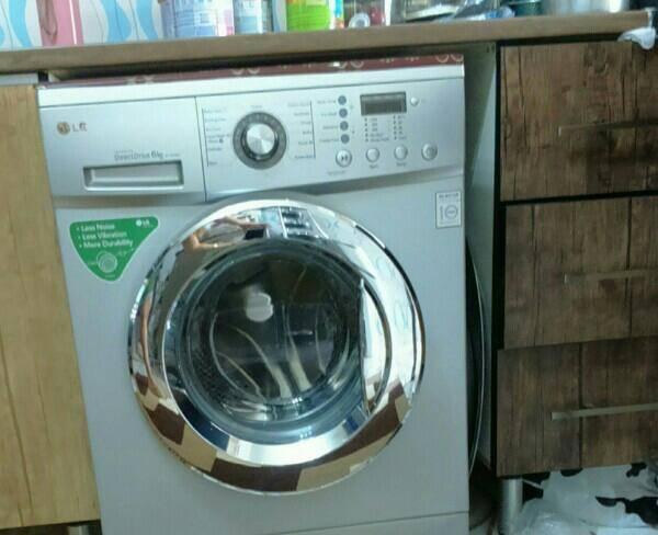 ماشین لباسشویی LG شش کیلویی در حد