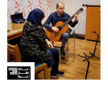 آموزش گیتار در ولنجک