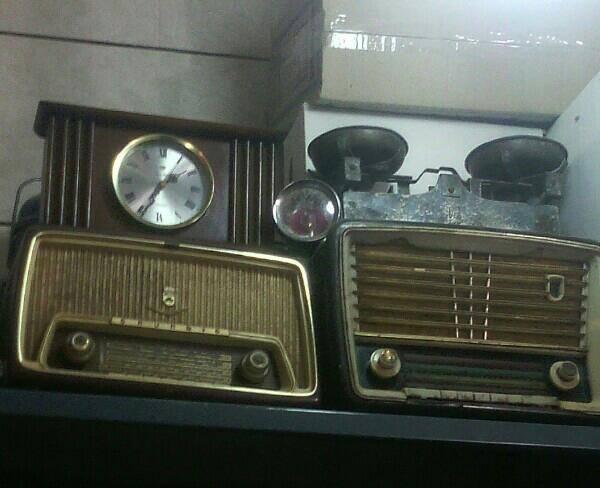 رادیو لامپی عتیقه دوعدد