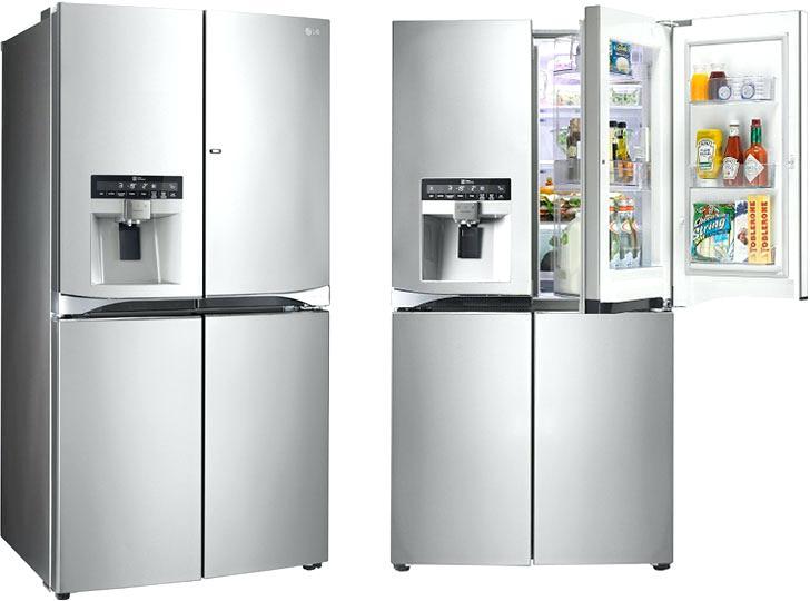 فروش انواع یخچال های ساید بایساید