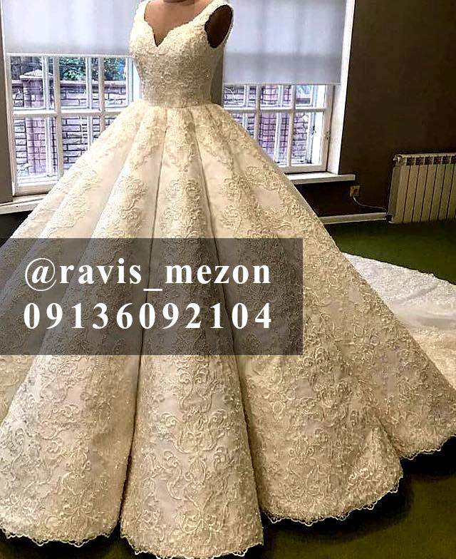 طراحی و دوخت لباس عروس و لباس شب در اصفهان