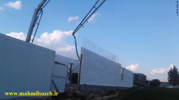 اجرای اسکلت و ساختمان با سیستم ICF