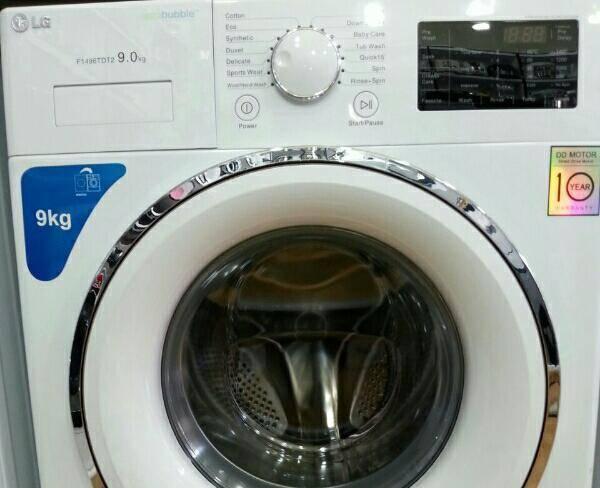 ماشین لباس شویی 9کیلوی اصل کره