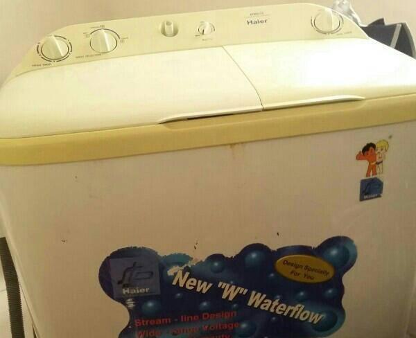 لباسشویی دوقلوی هایر تمییز