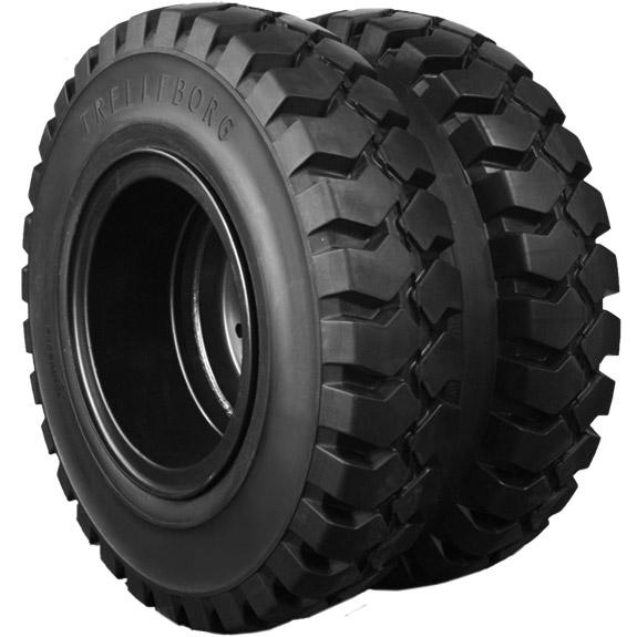 تایر توپر آفرود جهت ماشین الات صنعتی و لیفتراک solid tire