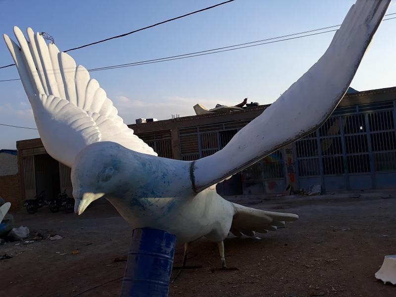 انوع مجسمه های مناسبتی-حیوانات-تزئینی فایبرگلاس