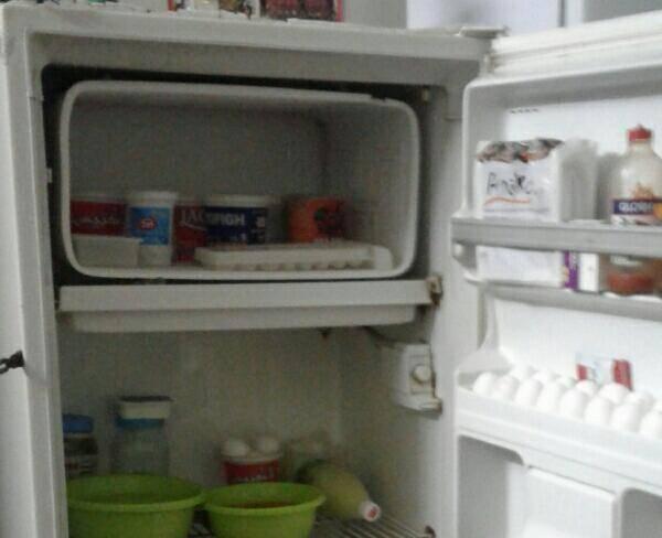 فروش یخچال بسیار تمیز ارج