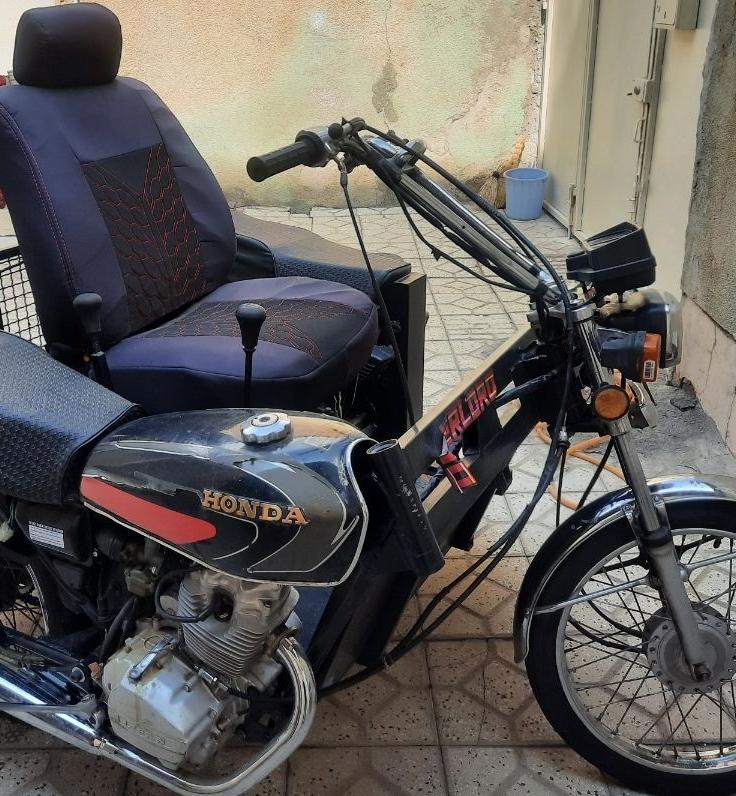 موتور ۳ چرخ معلولین
