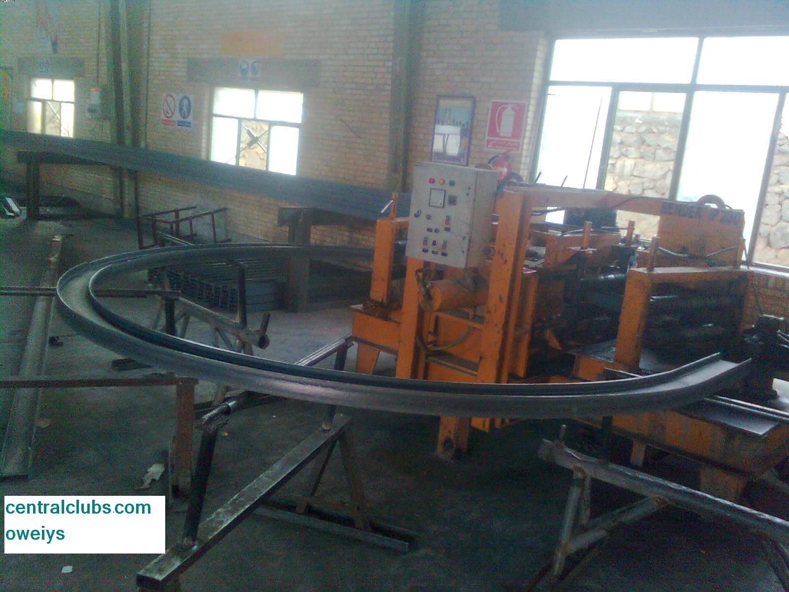 فروش و ساخت دستگاه نورد تیرآهن  از سایز 12الی30