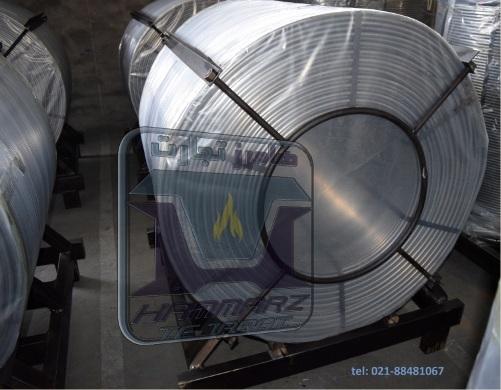 CASI CORED WIRE کلاف سیمی سیلیکو کلسیم - کلسیم سیلیکون توپودری