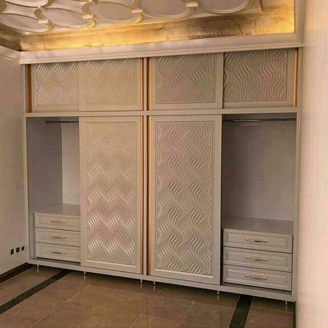 تخت کمجا دیواری ام دی اف/کابینت/سرویس خواب/پارتیشن /کمد دیواری/میز /نخت تاشو دیواری