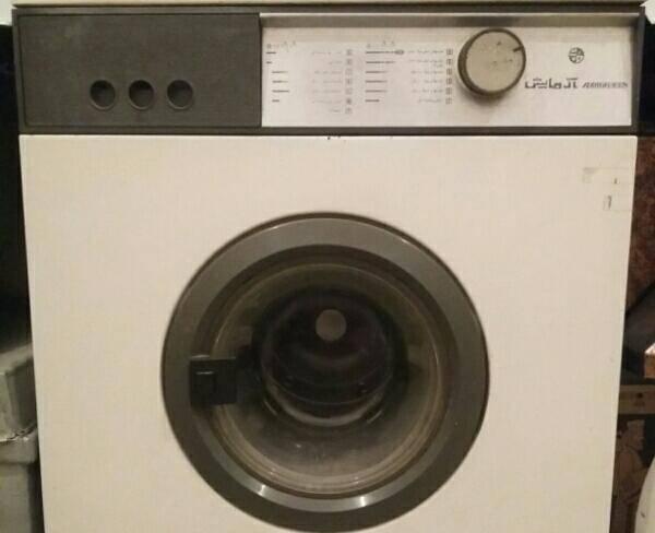 ماشین لباسشویی آزمایش