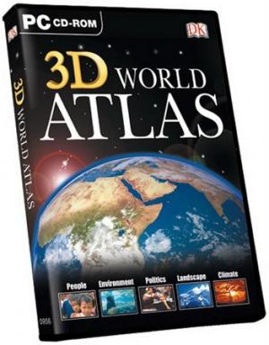 اطلس 3 بعدی جهان ویرایش جدید