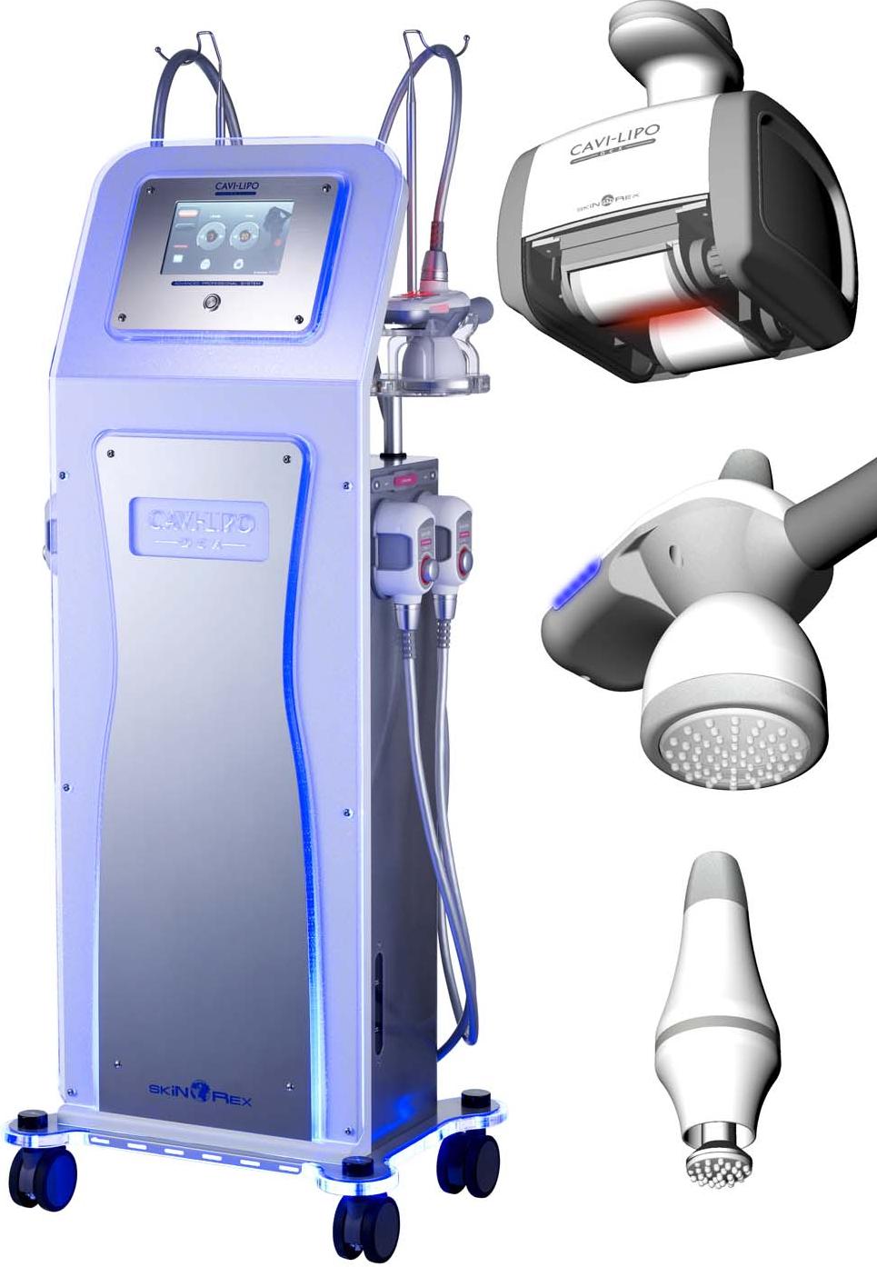 پیشرفته ترین دستگاههای لاغری (کرایولیپولیز کویتیشن رادیوفرکونسی ال پی جی لیزردرمانی کم توان