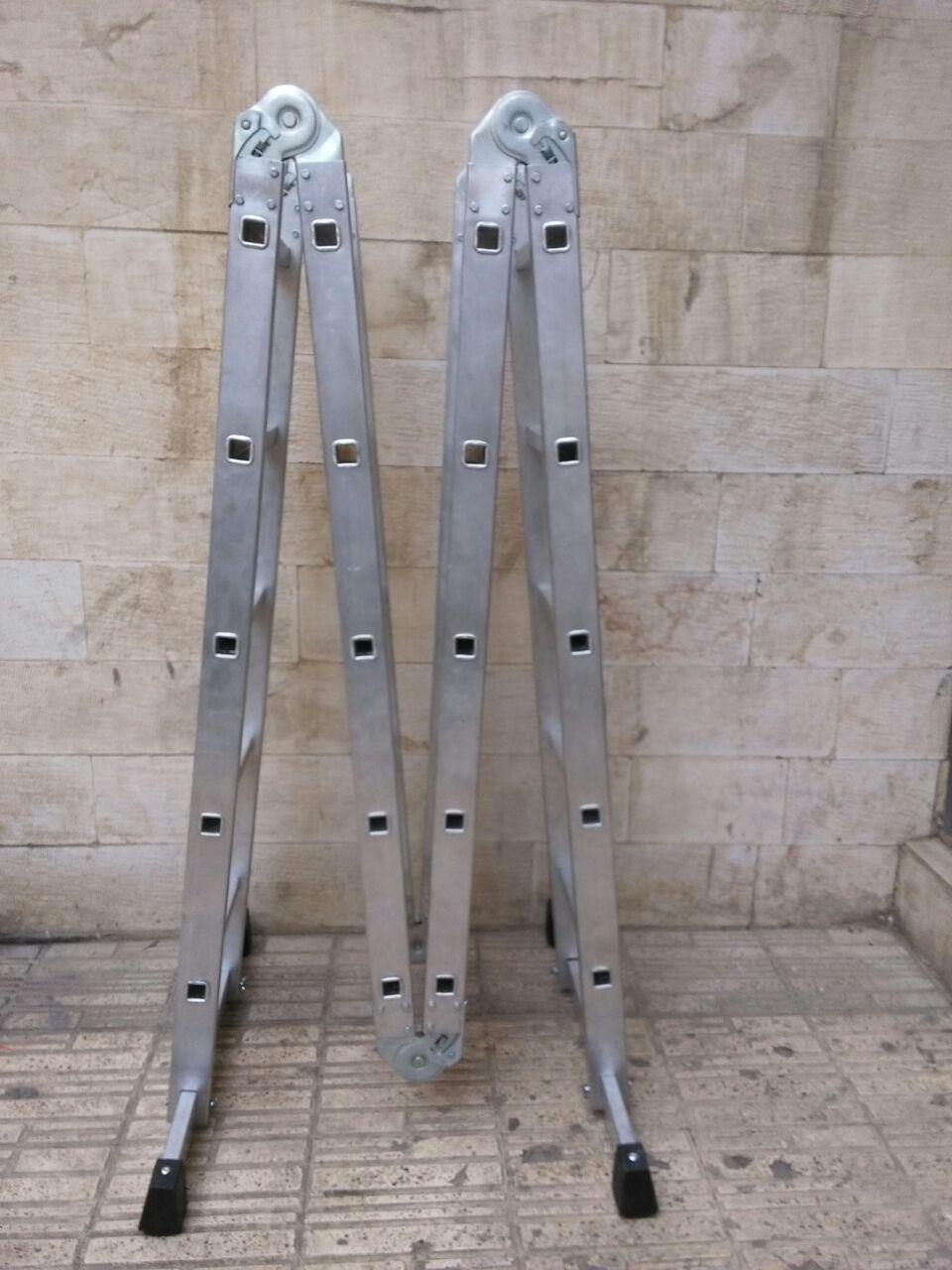 نردبان تاشو / نردبان آلومینیومی / فروش نردبان / تعمیر نردبان