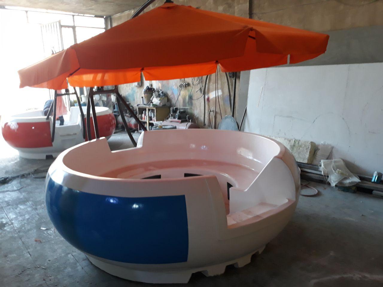 قایق های تفریحی زرین کار صفاهان