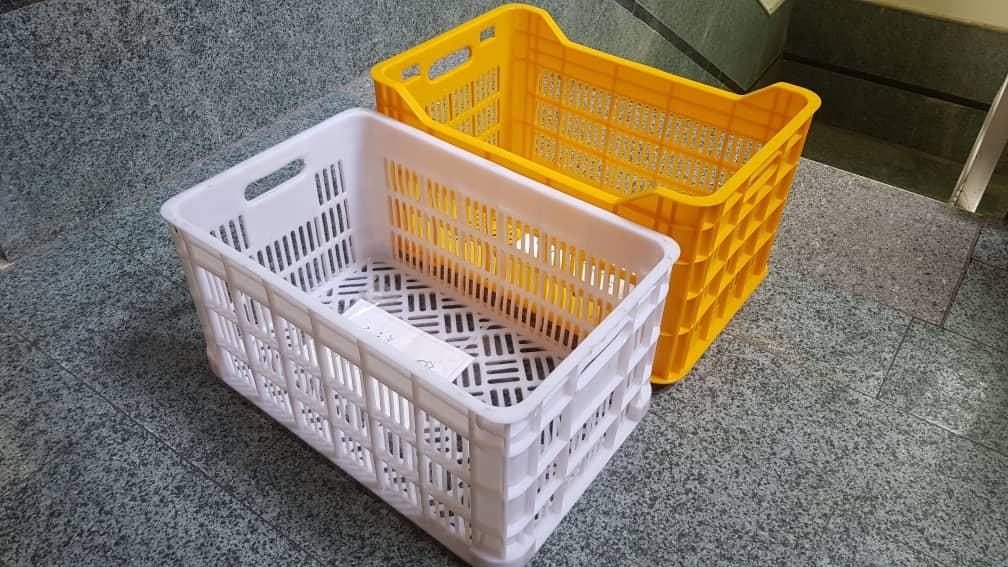 سبد پلاستیکی حمل پرتقال و گوجه فرنگی