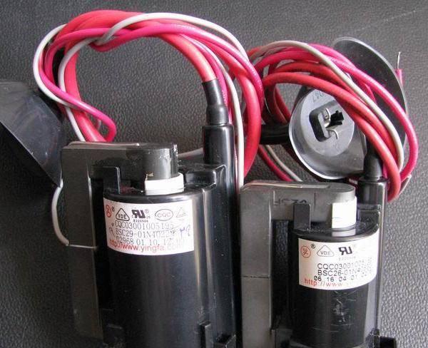 ترانس ولتاژ زیاد و IC تلویزیونی