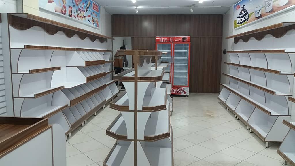 پارتیشن اداری / دیوارکوب / پارتیشن فروشگاهی/ قفسه فروشگاهی/ دکور مغازه