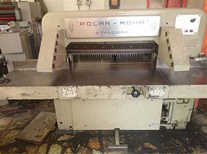فروش دستگاه برش کاغذ POLAR ساخت آلمان دهنه 92