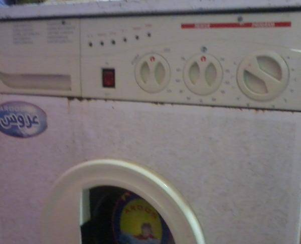 ماشین لباسشویی سطلی تمیز