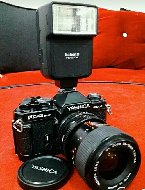 دوربین عکاسی yashika fx_3